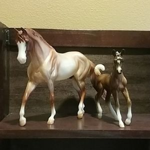 Breyer classic stallion and foal